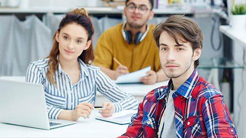 študenti kurz angličtiny